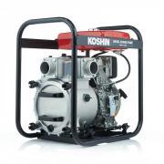 Дизельная мотопомпа для сильно-загрязненных вод Koshin KTY-80D