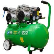 Компрессор ECO AE-50-OF1 (280 л/мин, 8 атм, коаксиальный, безмасляный, ресив. 50 л, 220 В, 1,6 кВт)