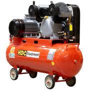 Компрессор HDC HD-A103 (600 л/мин, 10 атм, ременной, масляный, ресив. 100 л, 380 В, 3.30 кВт)