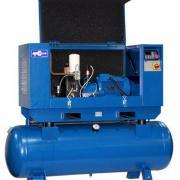 Винтовой компрессор на ресивере АСО ВК 5,5-08-230