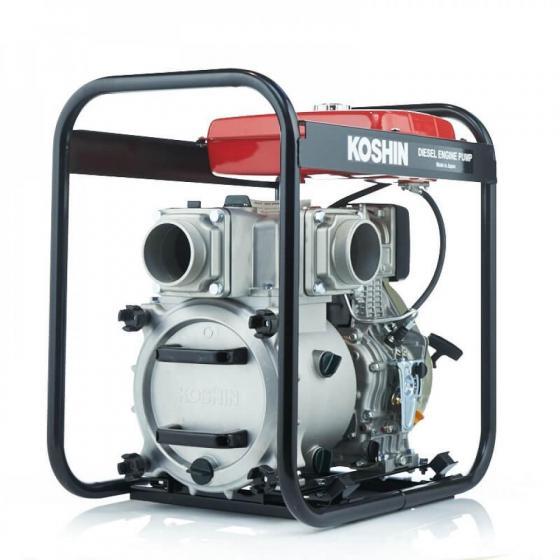 Дизельная мотопомпа для сильно-загрязненных вод Koshin KTY-100D