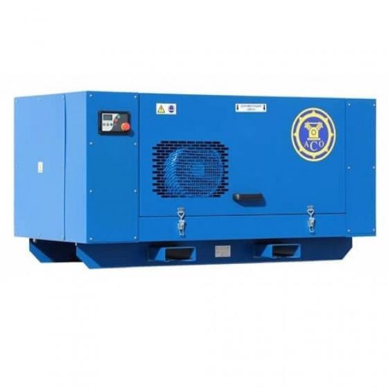Винтовой компрессор с ременным приводом без ресивера АСО ВК 18-13
