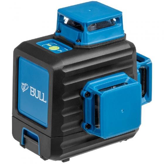 """Нивелир лазерный линейный BULL LL 3401 c аккумулятором и штативом в кор. (проекция: 3 плоскости 360°, до 80 м, +/- 0.30 мм/м, резьба 1/4"""" Подходит при"""