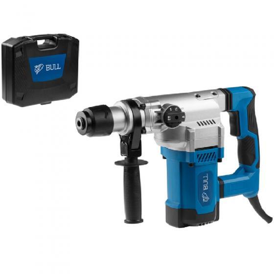 Перфоратор BULL BH 3601 в чем. (1500 Вт, 4.5 Дж, 4 реж., патрон SDS-plus, вес 5.7 кг) (01006325)