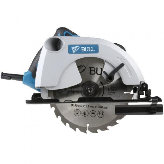 Циркулярная пила BULL KS 1901 в кор. (1500 Вт, 190х30 мм, до 65 мм) (07018126)