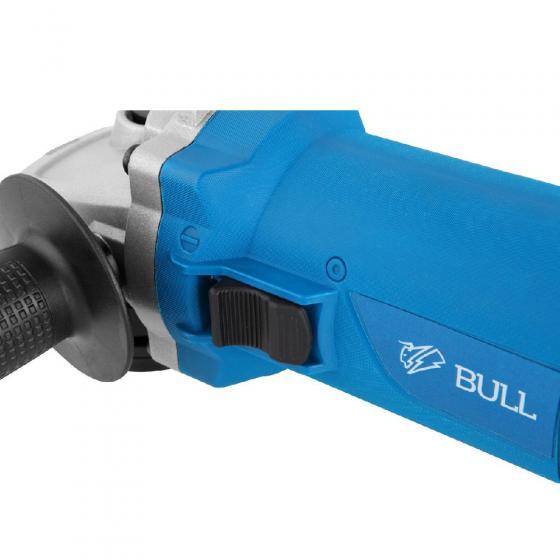 Одноручная углошлифмашина BULL WS 1206 в кор. (900 Вт, диск 125х22 мм) (03039132)