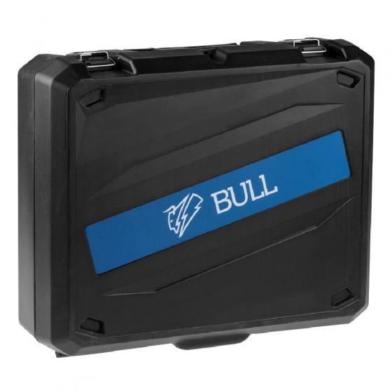 Термовоздуходувка BULL HG 5501 в чем. + набор сопл (1800 Вт, 3 скор., 50-550 °С, ступенч. рег.) (16031326)