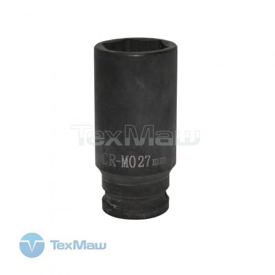 """Головка торцевая ударная удлиненная FROSP 1/2"""" - 27 мм"""