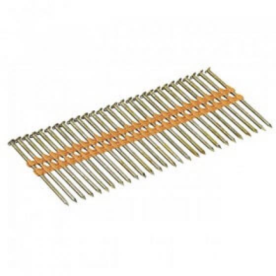 Реечные гвозди 21 градус 3.8x120 мм гладкие (Ф) 1400шт