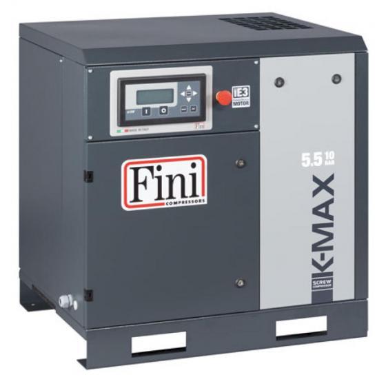 Винтовой компрессор без ресивера с прямым приводом FINI K-MAX 5,5-10
