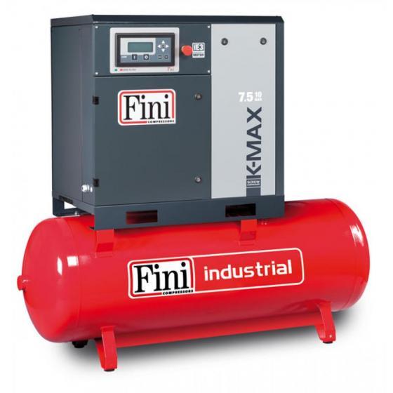 Винтовой компрессор на ресивере с прямым приводом FINI K-MAX 7,5-10-500F
