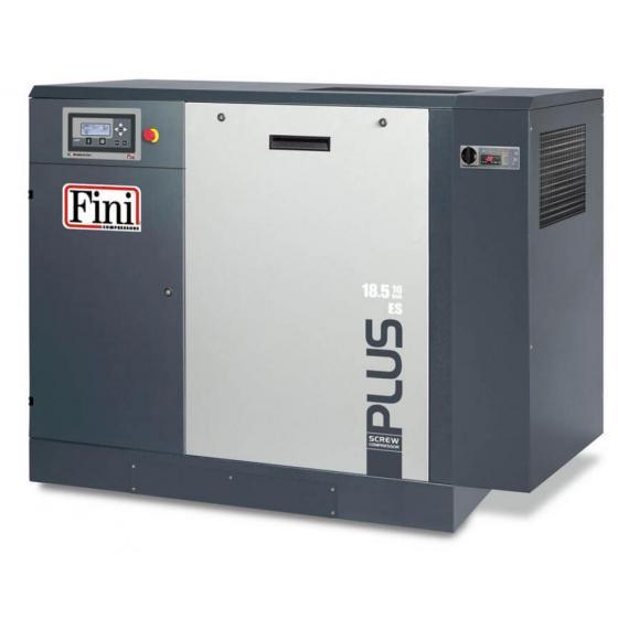 Винтовой компрессор без ресивера с осушителем, с частотником FINI PLUS 38-10 ES VS