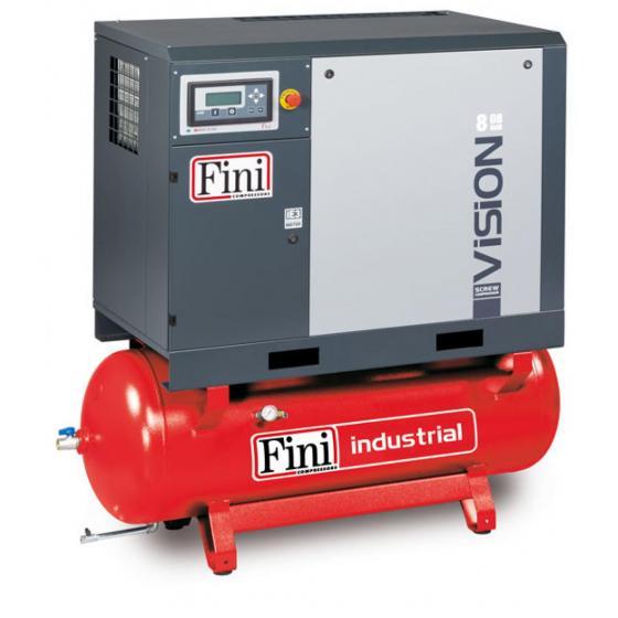 Винтовой компрессор на ресивере с осушителем, с частотником FINI VISION 1108-270F-ES VS